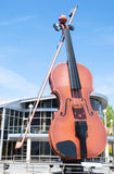 The Largest Violin Royalty Free Stock Photos