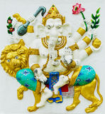 The Largest in the World of Lord GANESHA Statue. Royalty Free Stock Photography