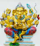 The Largest in the World of Lord GANESHA Statue. Royalty Free Stock Images