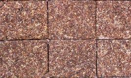 Largeur de surface de mur de briques image libre de droits