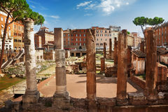 Largo Argentina Royalty Free Stock Photography