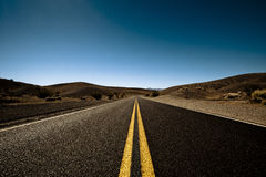 Largo camino Imagen de archivo