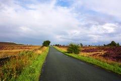 Largo camino a continuación Imagen de archivo