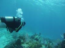 Largo chiave di immersione subacquea Fotografia Stock Libera da Diritti