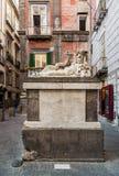 Largo Corpo di Napoli Fotografía de archivo libre de regalías