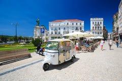Largo da Portagem in Coimbra, Portugal Royalty Free Stock Image