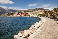 Largo di Garda Stock Photo