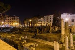 Largo Di Torre Αργεντινή καταστροφές στη Ρώμη Στοκ Εικόνες