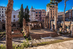 Largo di Torre Argentina Royalty Free Stock Images