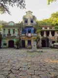 Largo do Boticario in Rio de Janeiro royalty free stock photography
