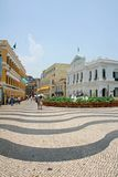 Largo do senado macau city architecture Royalty Free Stock Photos