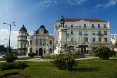 Largo gör Portagem, Coimbra, Portugal royaltyfria foton