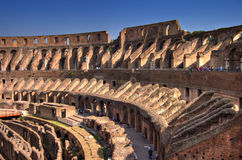 Largo interno di Roma Colosseum Fotografie Stock