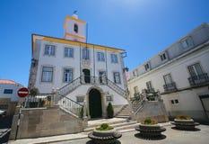 Largo Luis de Camoes in Almada, Portogallo Fotografia Stock