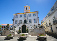 Largo Luis de Camoes in Almada, Portugal Royalty Free Stock Photography