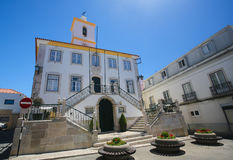 Largo Luis de Camoes in Almada, Portugal Stock Photo