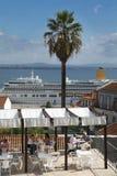 Largo Portas doet Sol Lisbon Royalty-vrije Stock Fotografie