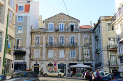 Largo Rafael Bordalo Pinheiro, Lisbon, Portugal Stock Photo