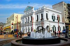 Largo Senado, Macao Royalty Free Stock Photography