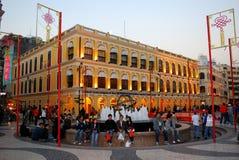 Largo Senado, Macao imágenes de archivo libres de regalías