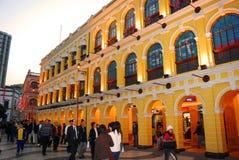 Largo Senado, Macao fotografía de archivo libre de regalías