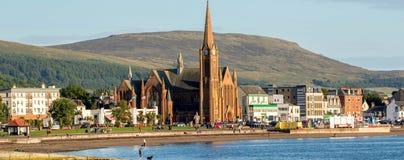 Largs - Escocia fotografía de archivo