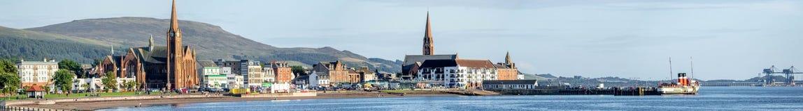 Largs - Escocia fotos de archivo libres de regalías
