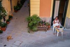 Lari, Casciana Terme, Pisa - Italia fotografia stock