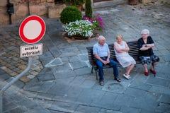Lari, Casciana Terme, Pisa - Italy Stock Image