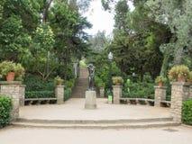 Laribal庭院 库存照片