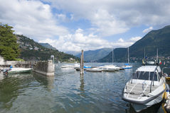 Cernobbio, Lake of Como, Italy Royalty Free Stock Images