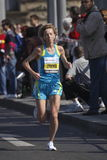 Larisa Zyuzko in Prague marathon Stock Image