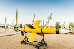 Lark Missile - areias brancas, New mexico imagem de stock