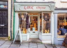 Lark Vintage shop front in Frome Stock Photos