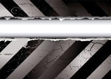 Larme noire et blanche illustration stock