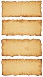 Larmes antiques de papier Images libres de droits