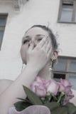 Larmes de la mariée Photos libres de droits