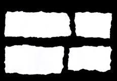 Larmes de papier photographie stock libre de droits