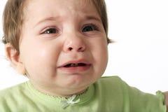 Larmes pleurantes image libre de droits
