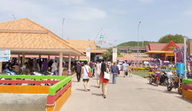 Larn de KOH Île de mer est Thaïlande Photo stock