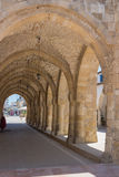 Larnaca, Cyprus – June 26, 2015: Archway of the Church of Sain Royalty Free Stock Images