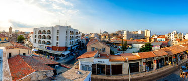LARNACA, CYPRUS - AUGUST 20, 2014: Souvenir and gift shops in th Royalty Free Stock Photo