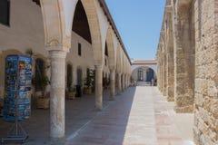 Larnaca, Cyprus – June 26, 2015:  Church of Saint Lazarus, Lar Stock Photo