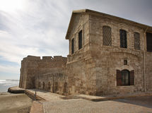 Larnaca Fort and Local Medieval Museum. Cyprus Stock Images