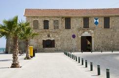 Larnaca fort by seaside larnaca cyprus royalty free stock photos