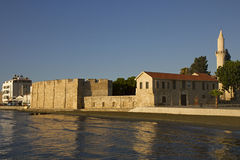 Larnaca fortress Royalty Free Stock Images