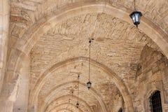 Larnaca gammal townkyrka Royaltyfri Bild