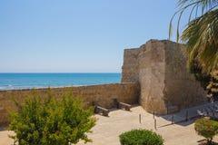 Larnaca middeleeuws fort Stock Afbeeldingen