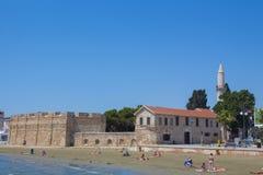 Larnaka-Fort Stockfotos