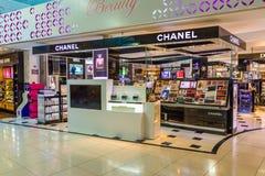 Larnaka lotnisko, Cypr zdjęcie stock